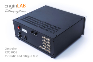 RTC 9001 Real Time Controller for static and fatigue test